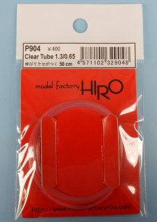 Model Factory Hiro P0904 clear tube 1.3 / 0,65 mm - translucent