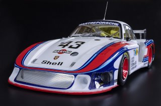 Model Factory Hiro 1/12 car model kit K740 Porsche 935/78 Moby Dick