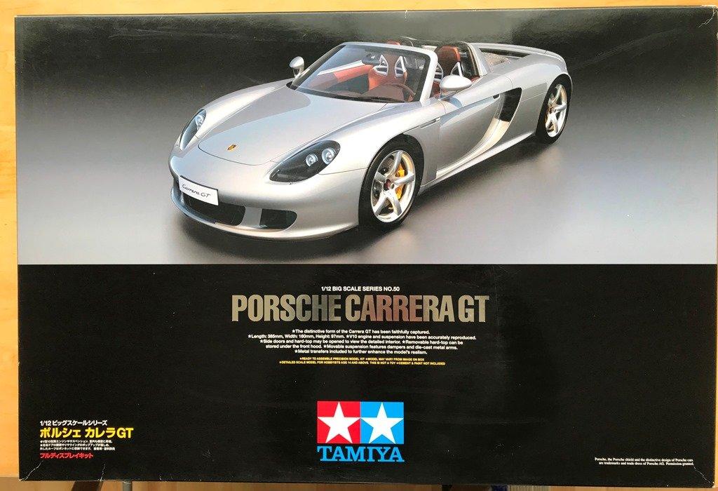 Customer Sale 1 12 Car Model Kit Tamiya Porsche Carrera Gt 2003