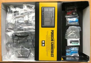 Customer Sale: 1/12 car model kit Tamiya Porsche Carrera GT (2003) - originally packed