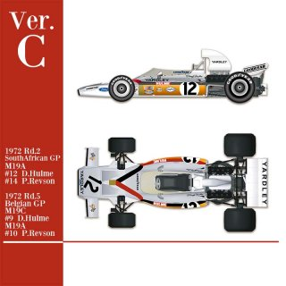 Model Factory Hiro 1/43 car model kit K586 McLaren M19 (1971) Version C