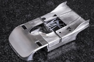 Model Factory Hiro 1/43 Automodellbausatz K579 Porsche 908/3 (1971) Version F