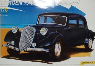Heller 1/8 car model kit Citroen Traction Avant