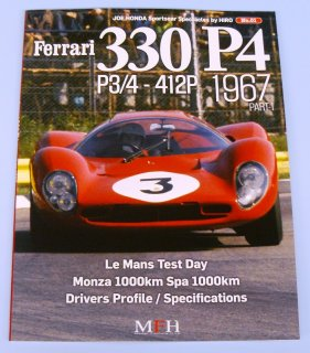 Sportscar spectacles by Model Factory Hiro: No. 01 - Ferrari 330 P4  P3/4 412P (1967)