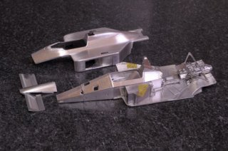 Model Factory Hiro 1/43 car model kit K528 McLaren MP4/4 (1988) Version C