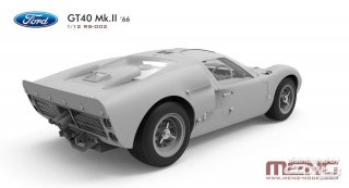 Magnifier US Sports Car - formerly Trumpeter 1/12 car model kit Ford GT40 MKII winner Daytona 24h (1966)