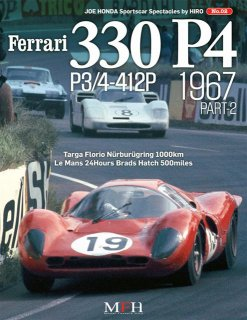 Sportscar spectacles von Model Factory Hiro: No. 02 - Ferrari 330 P4  P3/4 412P (1967) Teil 2