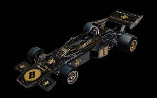 Pocher 1/8 model kit HK114 Lotus 72D British GP (1972)