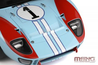 Meng 1/12 car model kit Ford GT40 MKII winner Daytona 24h (1966) - prepainted edition