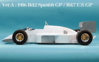 Model Factory Hiro 1/12 car model kit K439 Lotus 98T (version A) 1986