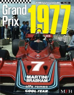 Racing Pictorial Series von Model Factory Hiro: No. 35 - Grand Prix 1977 Part 1