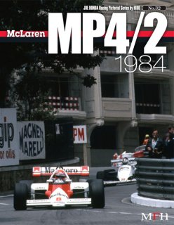 Racing Pictorial Series von Model Factory Hiro: No. 32 - McLaren MP 4/2 1984