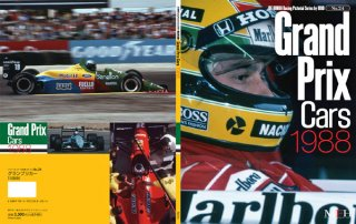 Racing Pictorial Series von Model Factory Hiro: No. 24 - Grand Prix Cars 1988