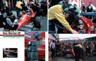 Racing Pictorial Series von Model Factory Hiro: No. 22 - Ferrari 156/85, F186 1985-86