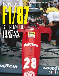 Racing Pictorial Series von Model Factory Hiro: No. 11 - Ferrari F1 87/88C