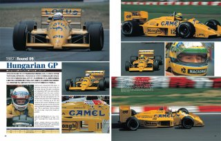 Racing Pictorial Series von Model Factory Hiro: No. 10 - Lotus 99T & 100T 1987-88