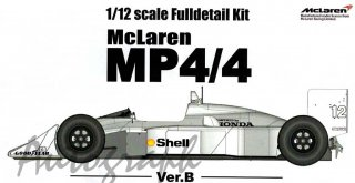 Model Factory Hiro 1/12 Automodellbausatz K392 McLaren MP4-4 (Version B) 1988