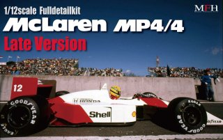 Model Factory Hiro 1/12 car model kit K427 McLaren MP4-4 (version E) 1988