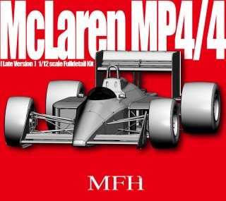 Model Factory Hiro 1/12 Automodellbausatz K428 McLaren MP4-4 (Version F) 1988