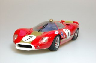 Model Factory Hiro 1/24 car model kit K220 F P68 (1968) Version B