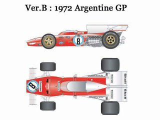 Model Factory Hiro 1/20 Automodellbausatz K318 Ferrari 312 B2 (1972) Version B