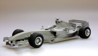 Model Factory Hiro 1/20 car model kit K222 Ferrari F2004M