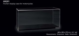 Pocher Showcase for motorcycle model scale 1/4