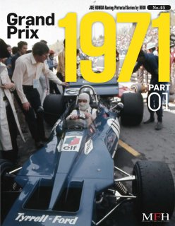 Racing Pictorial Series von Model Factory Hiro: No. 45 - Grand Prix 1971 Part 1
