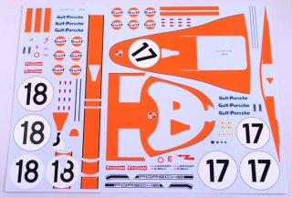 Model Factory Hiro 1/12 Automodellbausatz K499 Porsche 917 LH (1971) Version B #17