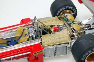 Model Factory Hiro 1/20 car model kit K246 Ferrari 312B3 (1974) Version B