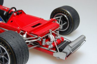 Model Factory Hiro 1/20 car model kit K230 March 701 (1970) Ver. C