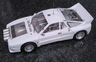 Model Factory Hiro 1/24 car model kit K505 Lancia 037 Rallye (B) #4 #5