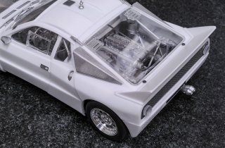 Model Factory Hiro 1/24 car model kit  K506 Lancia 037 Rallye (C) #18