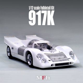 Model Factory Hiro 1/12 Automodellbausatz K513 Porsche 917K (1970) Version C