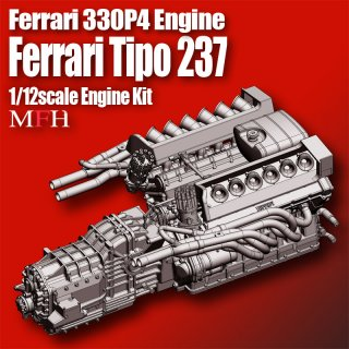 Model Factory Hiro 1/12 Engine Kit KE008 Ferrari 330P4