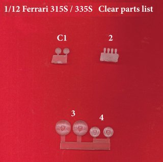 Model Factory Hiro 1/12 Automodellbausatz K539 Ferrari 315/335 S (1957) Version C