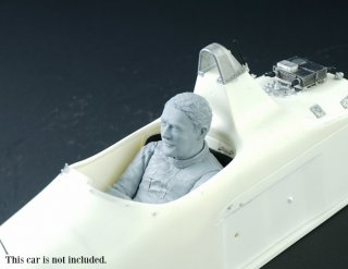 Dive Nine 1/12 figure kit 004 Nigel Mansell 1987 - sitting