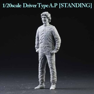 Dive Nine 1/20 figure kit 0002 Alan Prost 1988/89/90 - standing