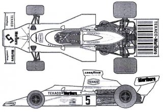 MSM Creation Decals 1/12 D162 für McLaren M23 (Tamiya)