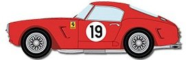 Model Factory Hiro 1/24 car model kit K294 Ferrari 250 SWB Ver. B Late Version)
