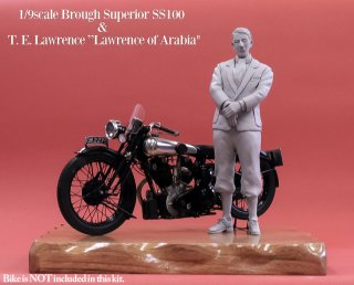 Model Factory Hiro 1/9 Figurenbausatz Lawrece of Arabia (stehend)