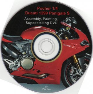 Paul Koos DVD for Pocher 1/4 kits: Ducati 1299 Panigale S