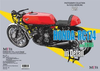 Photographic collection Model Factory Hiro: Vol. 5 - Honda RC166 and 174 in detail