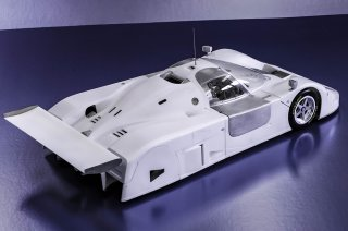 Model Factory Hiro 1/12 car model kit K554 Jaguar XJR-9 Le Mans (1988) Version A