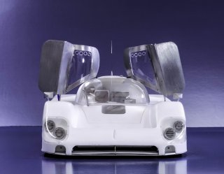 Model Factory Hiro 1/12 Automodellbausatz K555 Jaguar XJR-9 Le Mans (1989) Version B