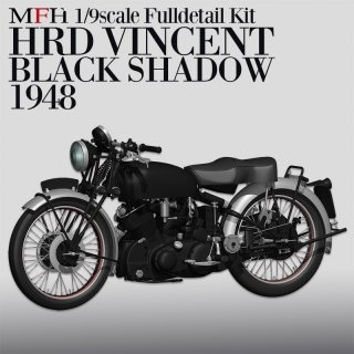 Model Factory Hiro 1/9 K567 Motorradbausatz HRD Vincent Black Shadow (1948)