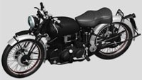 Model Factory Hiro 1/9 motorcycle kit K567 HRD Vincent Black Shadow (1948)