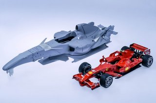 Model Factory Hiro 1/12 car model kit Ferrari K569 F2007 F1 (2007) Version B