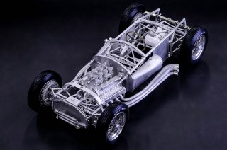 Model Factory Hiro 1/12 car model kit K580 Ferrari D50 (1956) version (A)