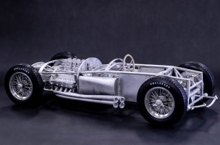 Model Factory Hiro 1/12 car model kit K581 Ferrari D50 (1956) version (B)